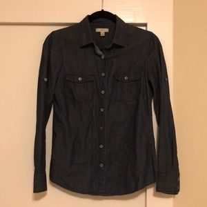 Jcrew Dark Denim Shirt (0)